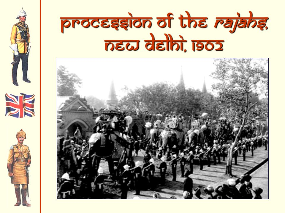 Procession of the Rajahs, New Delhi, 1902