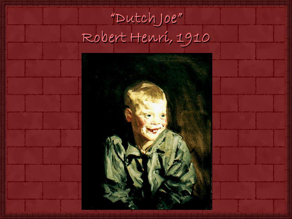 Dutch Joe Robert Henri, 1910