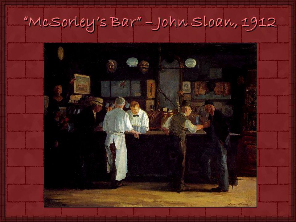 McSorleys Bar – John Sloan, 1912