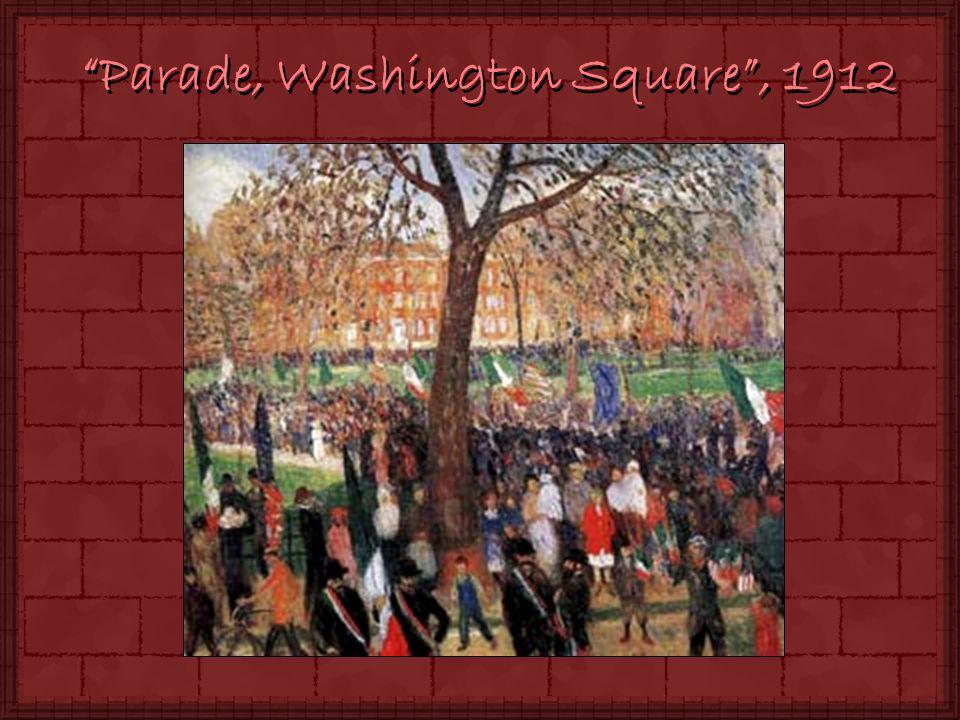 Parade, Washington Square, 1912