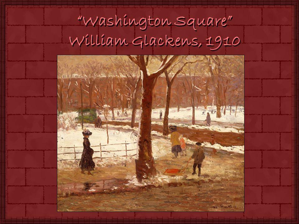 Washington Square William Glackens, 1910