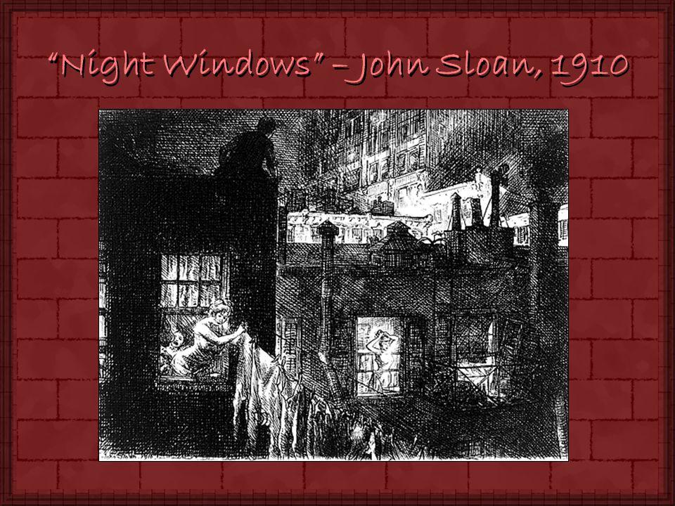 Night Windows – John Sloan, 1910