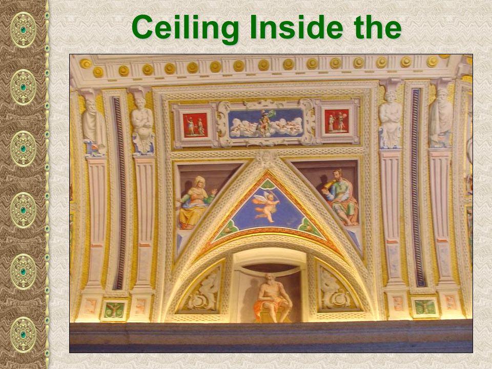 Ceiling Inside the Escorial