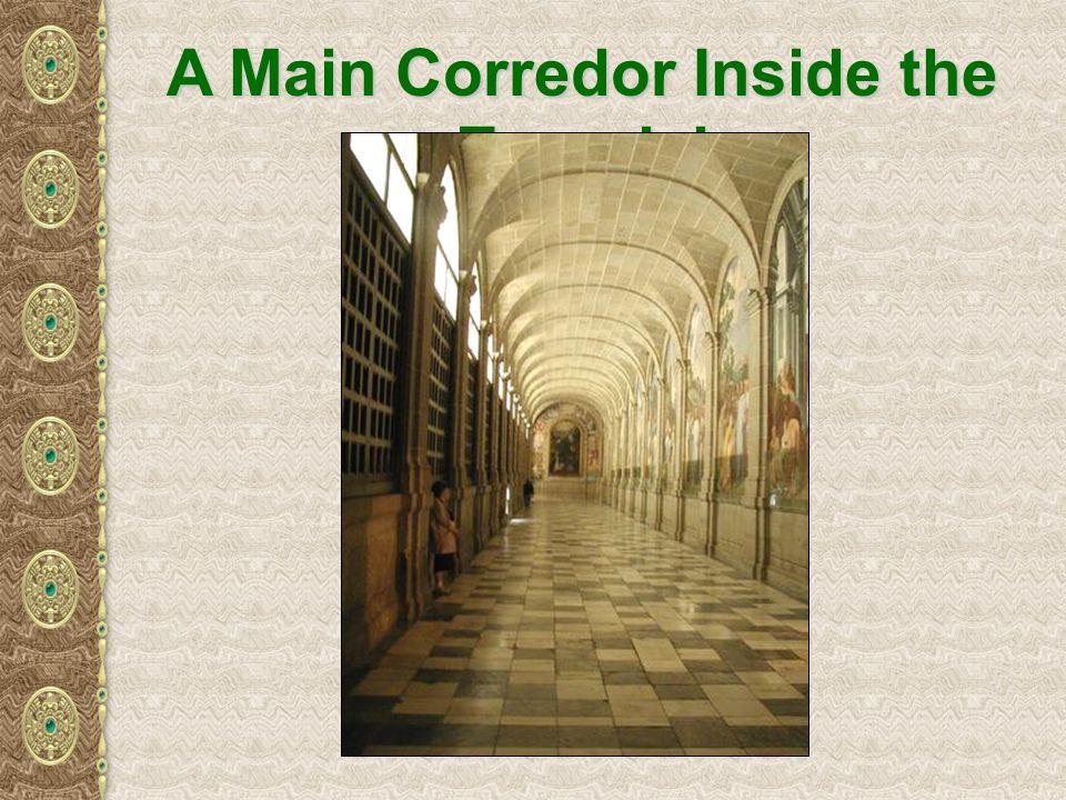 A Main Corredor Inside the Escorial