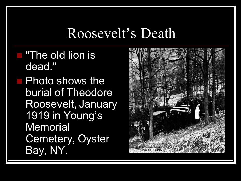 Roosevelts Death