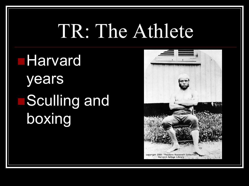 Roosevelt at Harvard Roosevelts classroom education