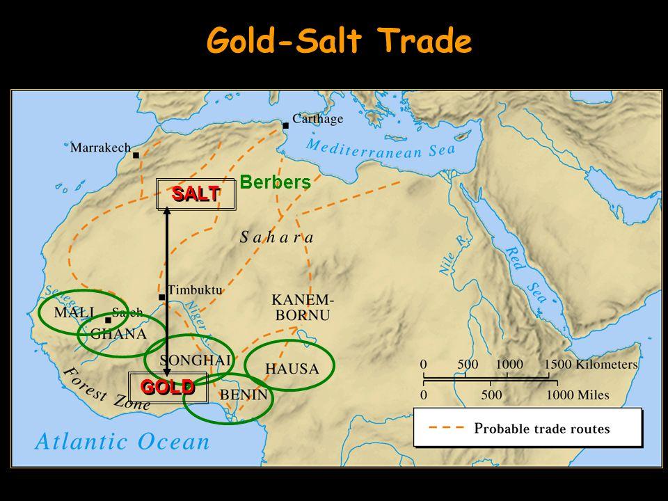 Berbers GOLD SALT Gold-Salt Trade