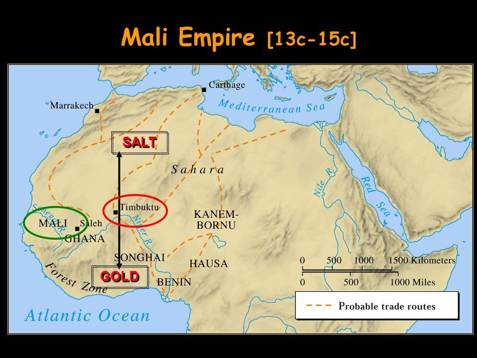 Mali Empire [13c-15c] GOLD SALT
