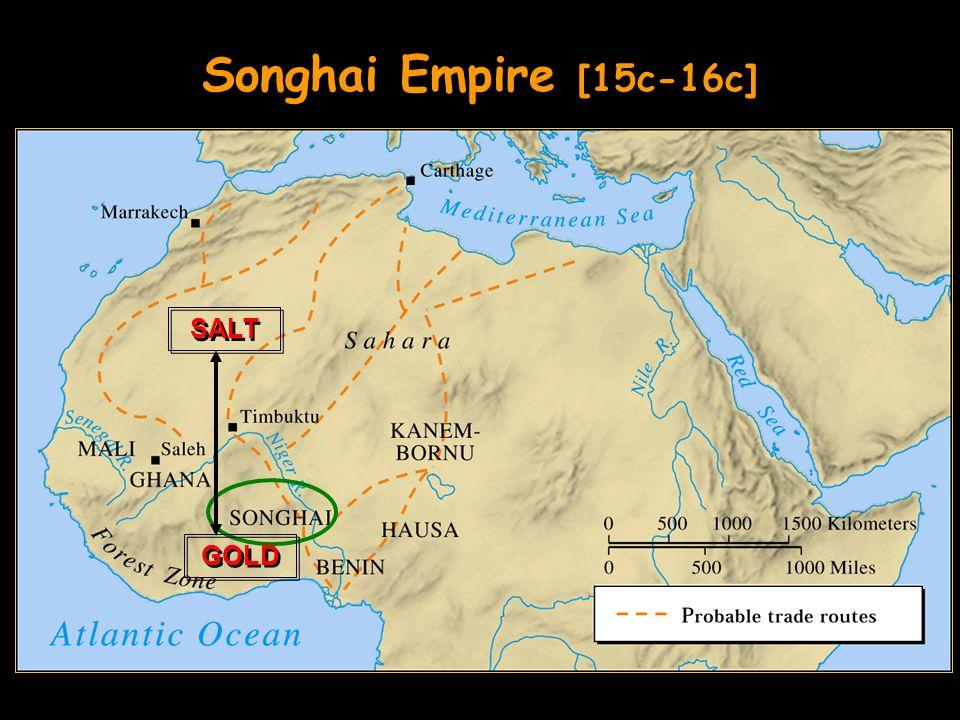 Songhai Empire [15c-16c] GOLD SALT