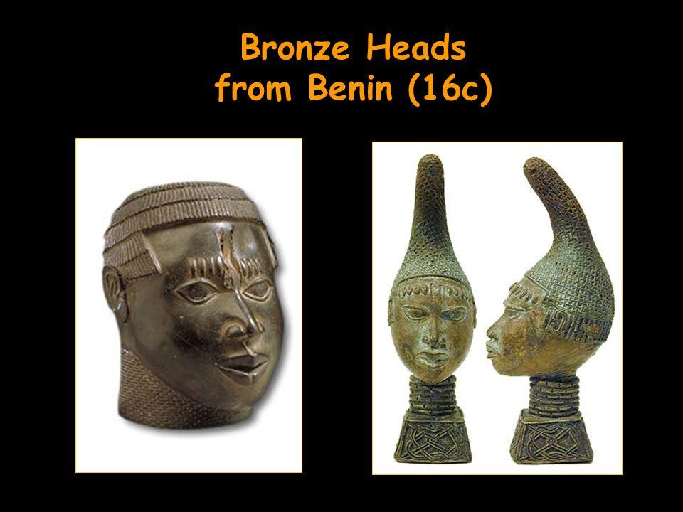 Bronze Heads from Benin (16c)