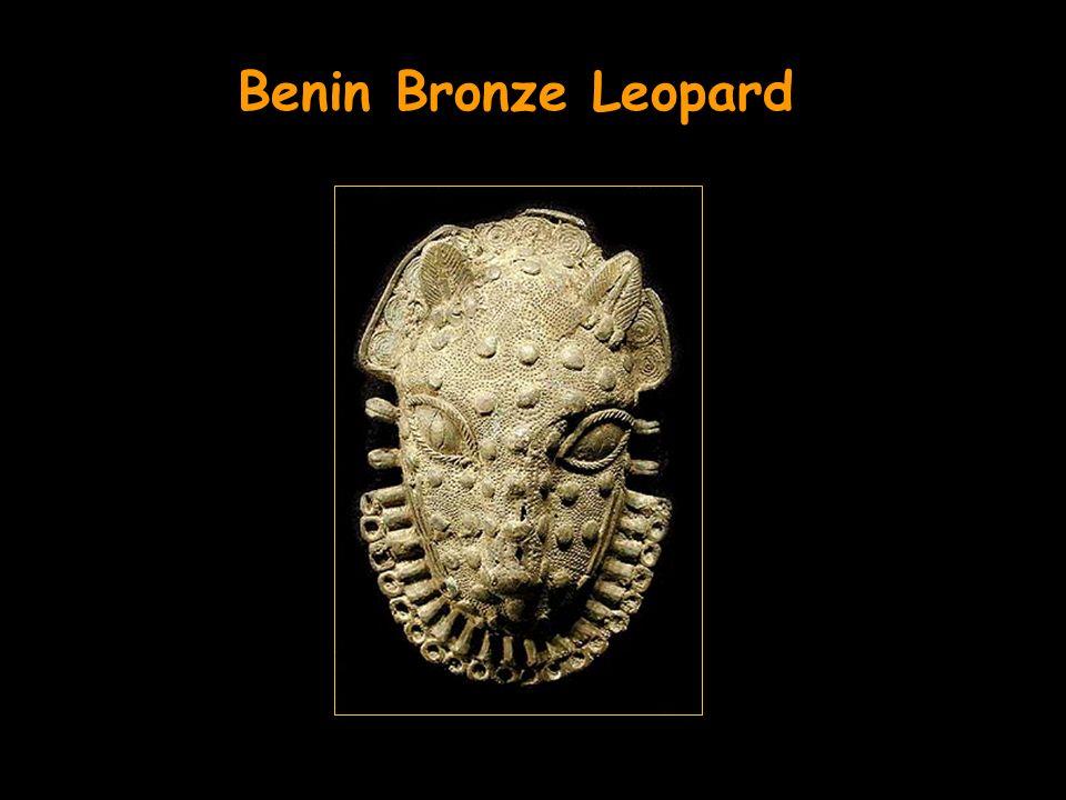 Benin Bronze Leopard