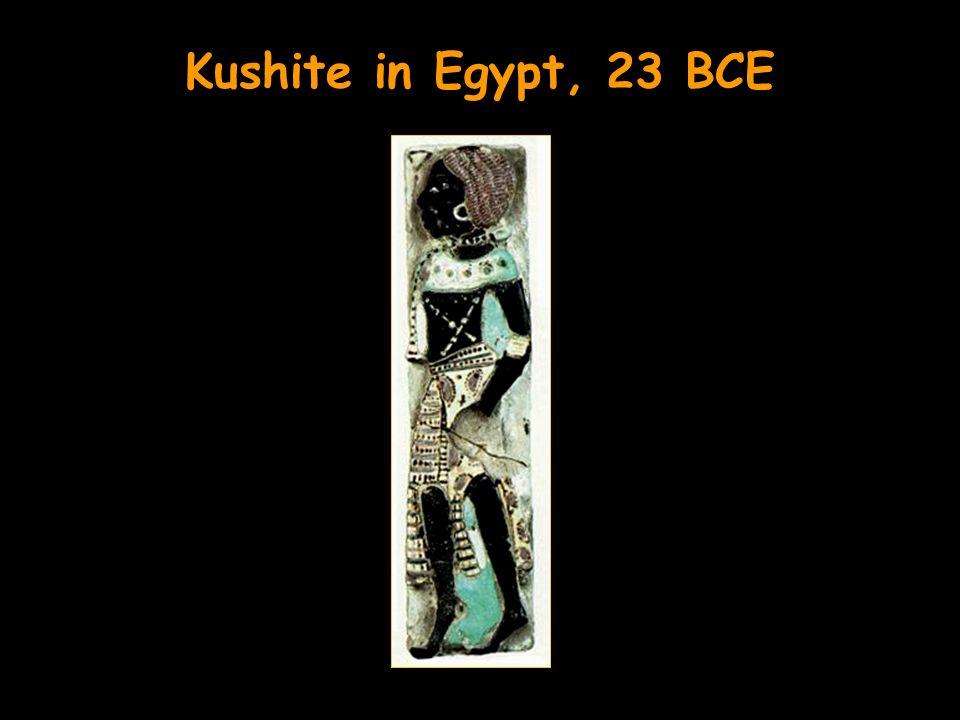 Kushite in Egypt, 23 BCE