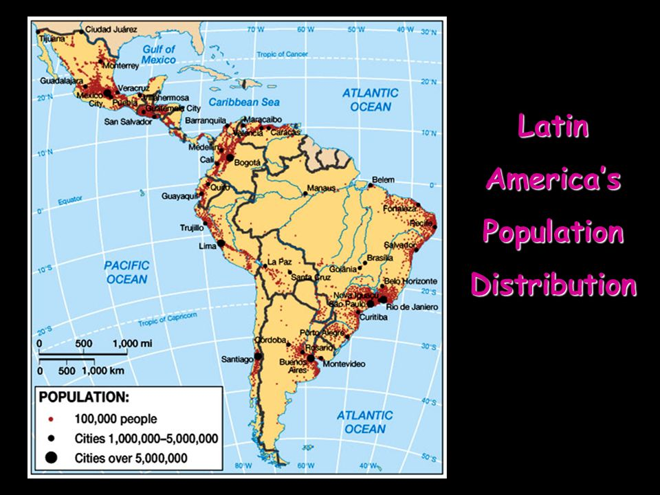 LatinAmericasPopulationDistribution