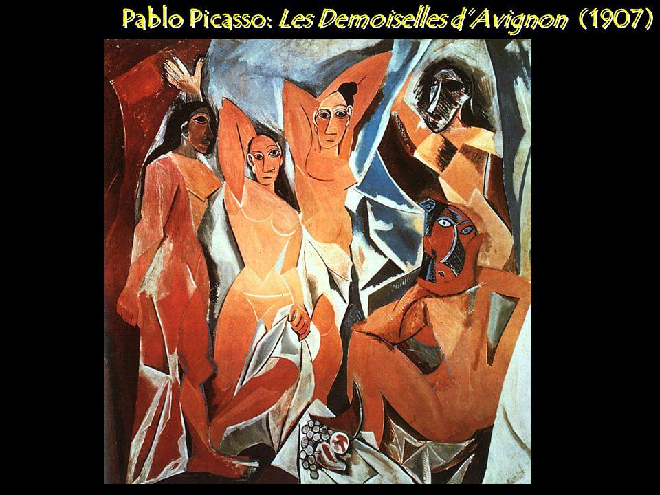 Pablo Picasso: Les Demoiselles dAvignon (1907)