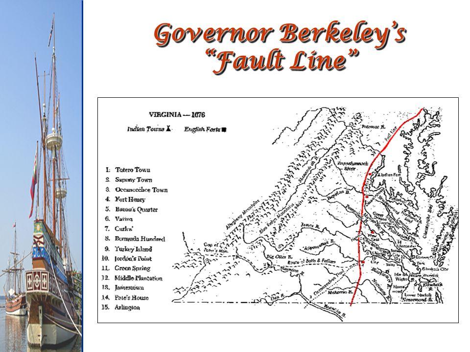 Governor Berkeleys Fault Line