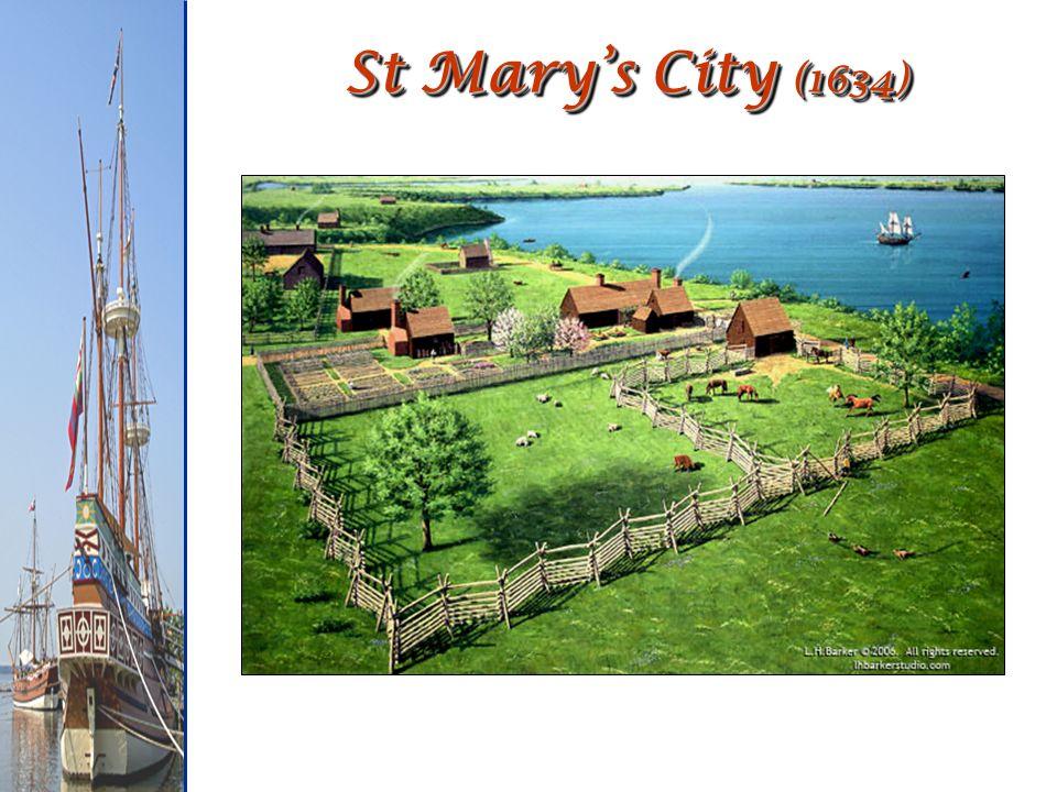 St Marys City (1634)