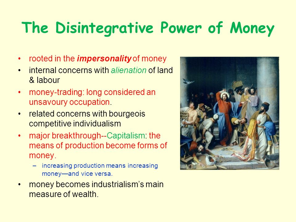 Main Characteristics of Money 1.Means of Exchange money as information, a symbol 2.
