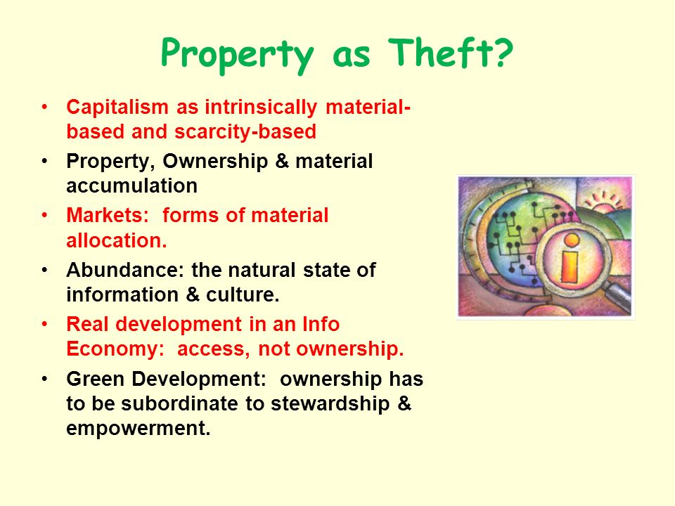 Property as Theft.