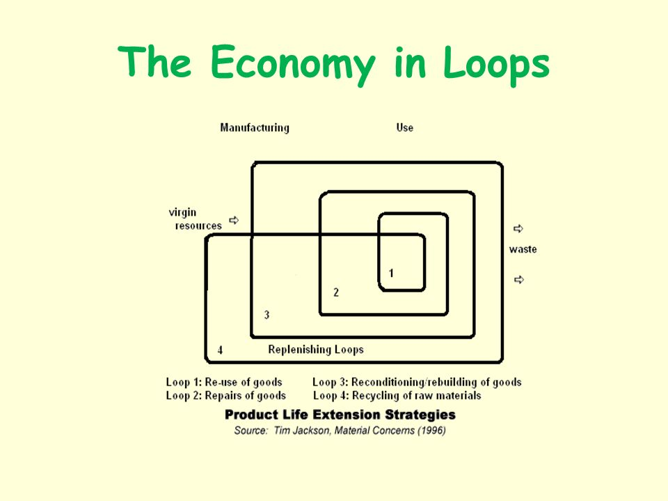 The Economy in Loops