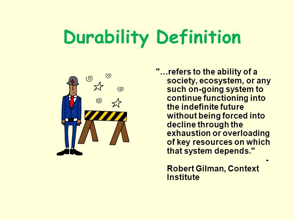 Durability Definition