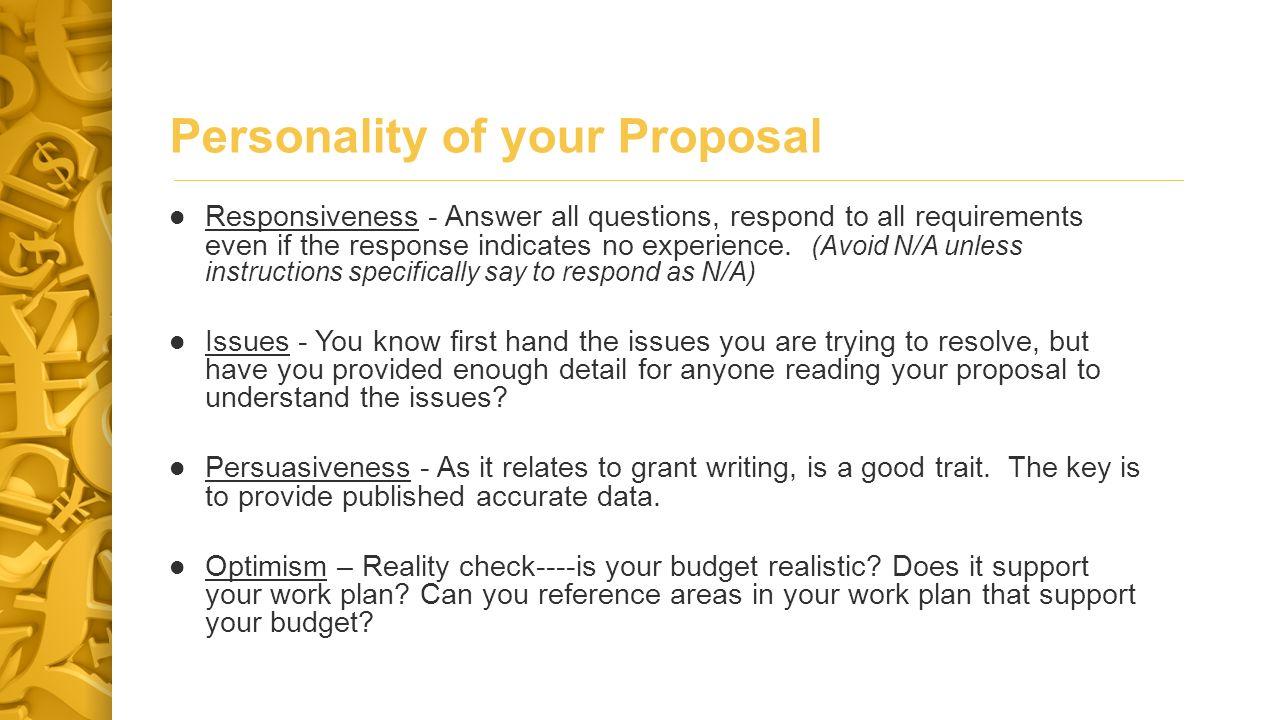 Basic Principals * 6.Be reasonable and realistic.