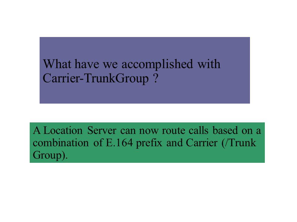 PSTN Carrier A PSTN Carrier B PSTN Carrier C PSTN Carrier B PSTN Carrier D VVVVV A sample VoIP provider Network V PSTN gateway Proxy Server
