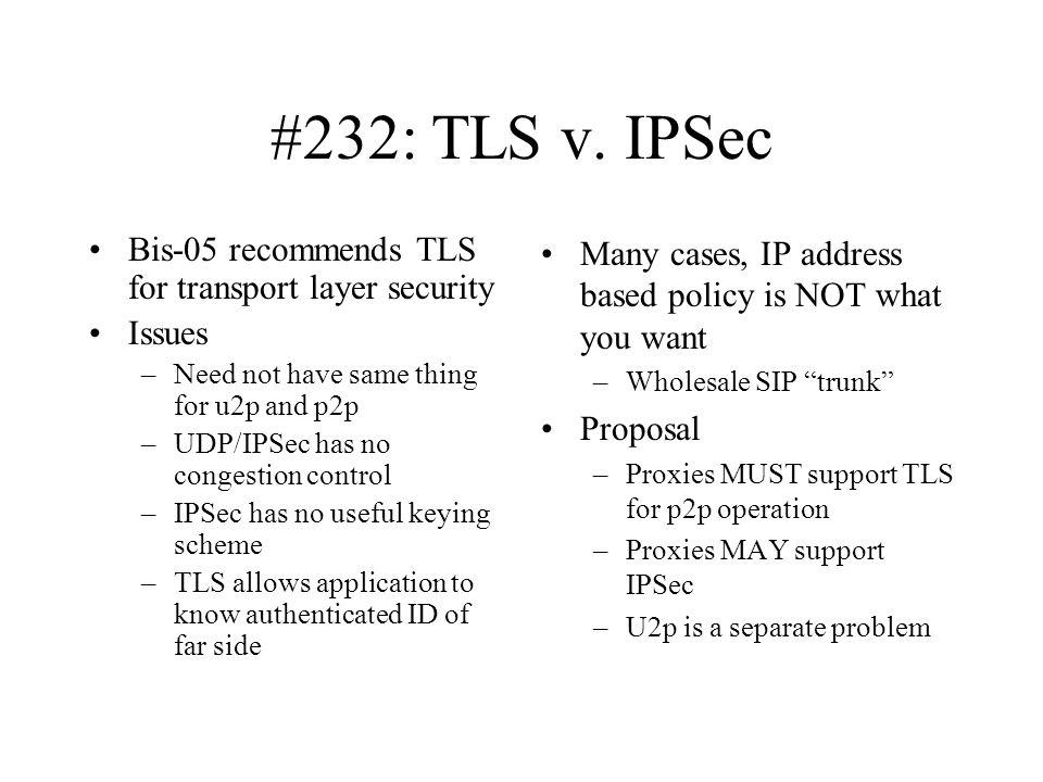 #232: TLS v.