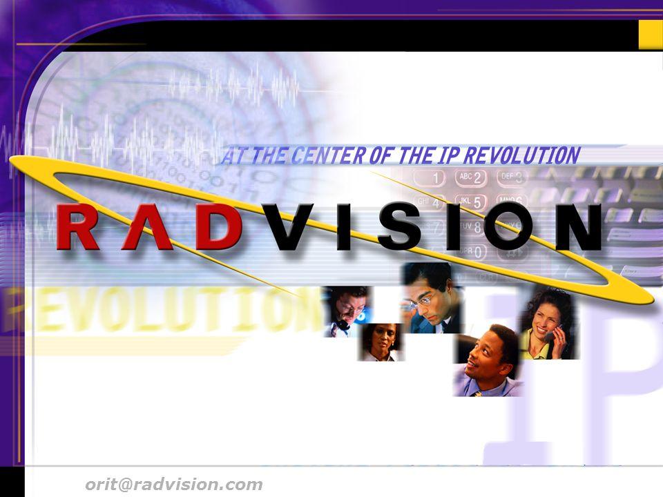 orit@radvision.comIETF 48 Aug. 2000 # 10 orit@radvision.com