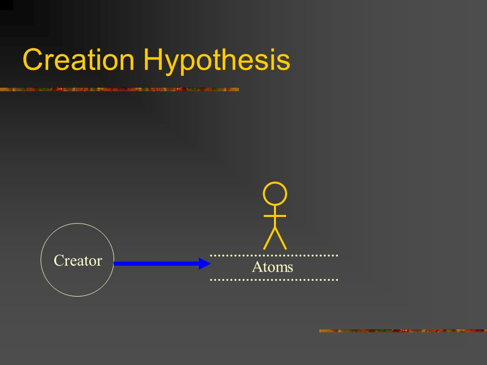 Creation Hypothesis Atoms Creator