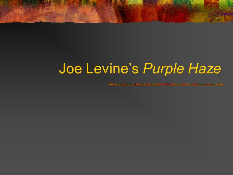 Joe Levines Purple Haze