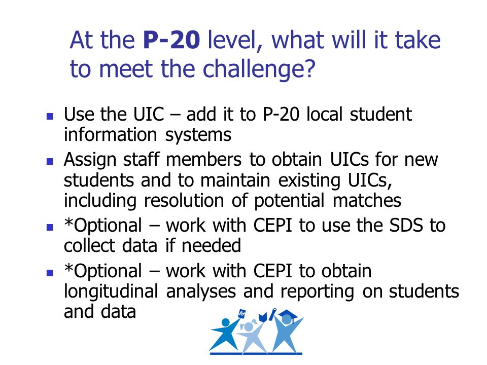 At the P-20 level, what will it take to meet the challenge.