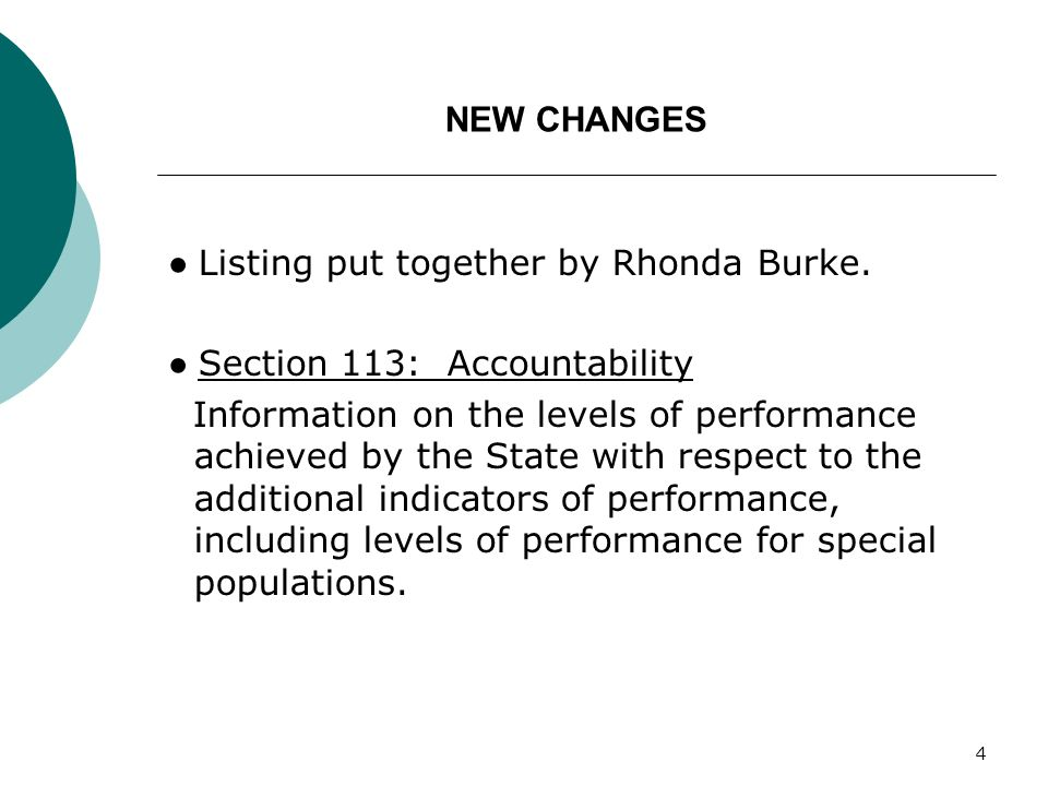4 NEW CHANGES Listing put together by Rhonda Burke.