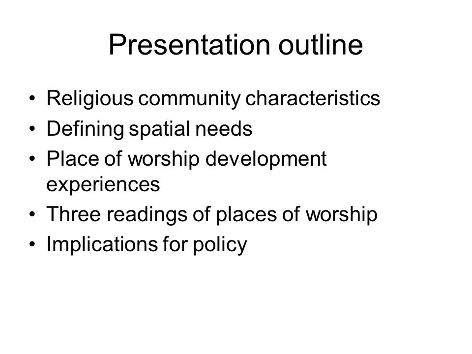 Private Public Religion, places of worship & new discourse Multiculturalism Household/ Family Intra-ethnic community Inter-ethnic Co-religious Minority- minority Inter-ethnic Min/majority