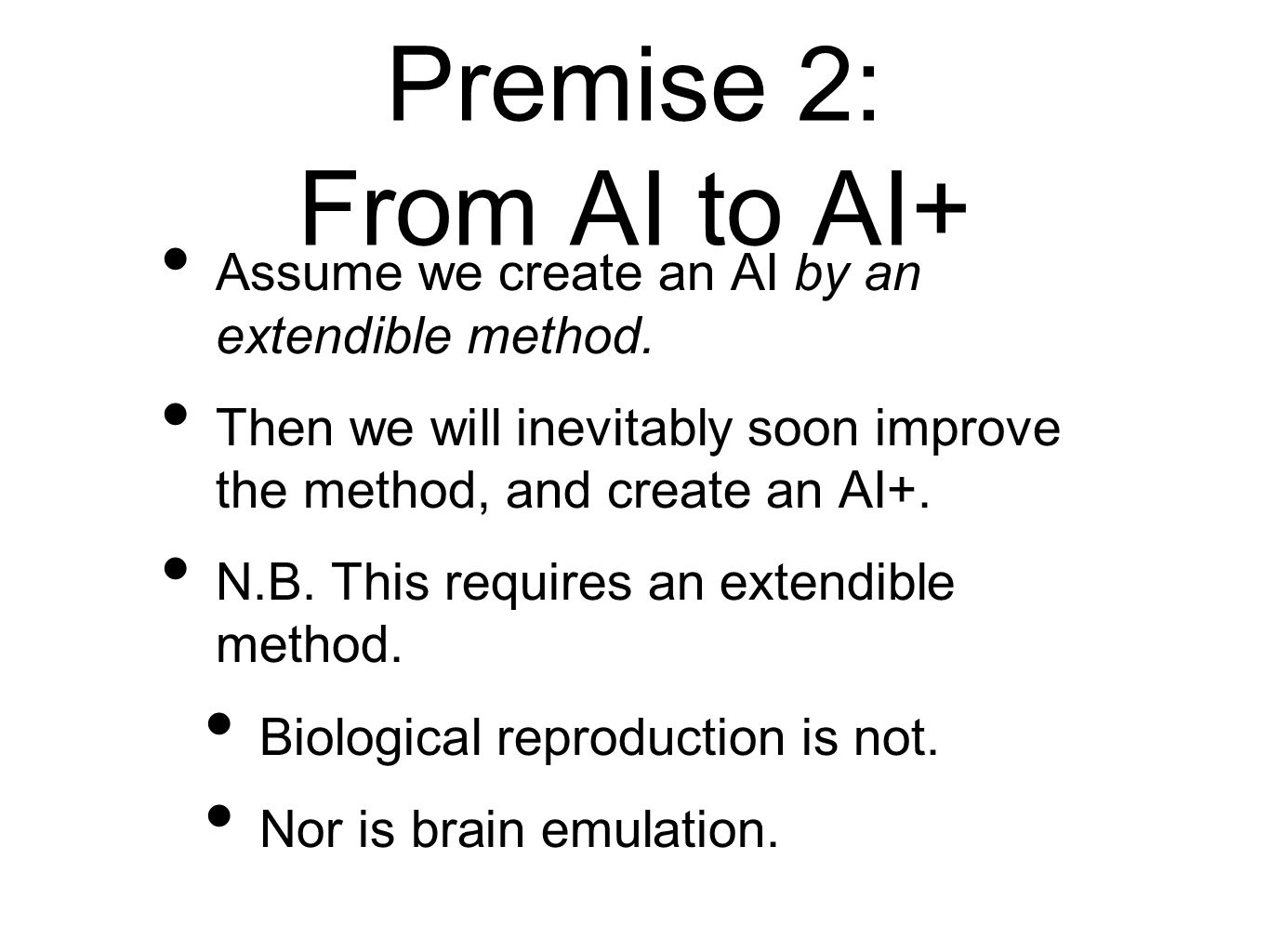 AI+ in a Simulated World AI+ in a simulated world offers us somewhat more control.