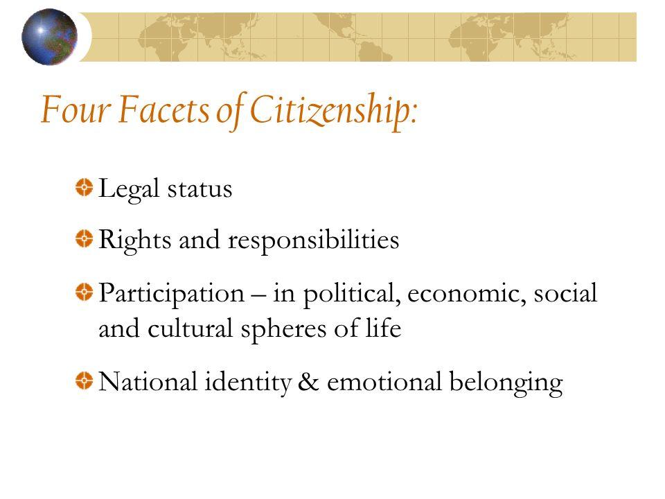 Models of Civic Citizenship: