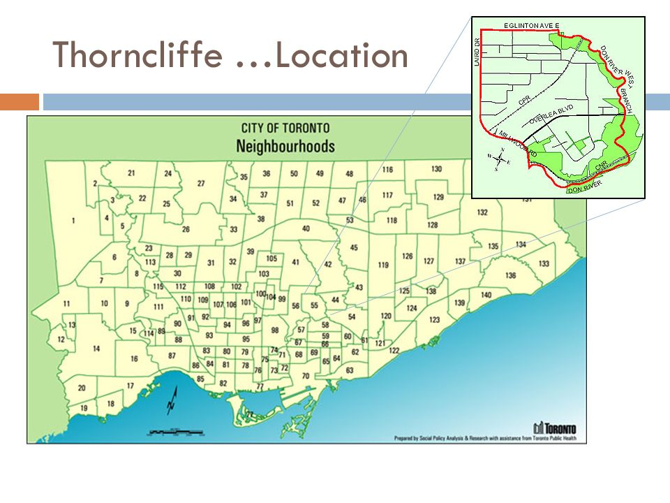 Thorncliffe …Location