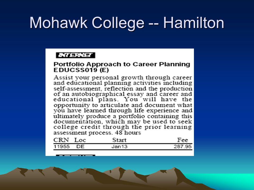 Mohawk College -- Hamilton