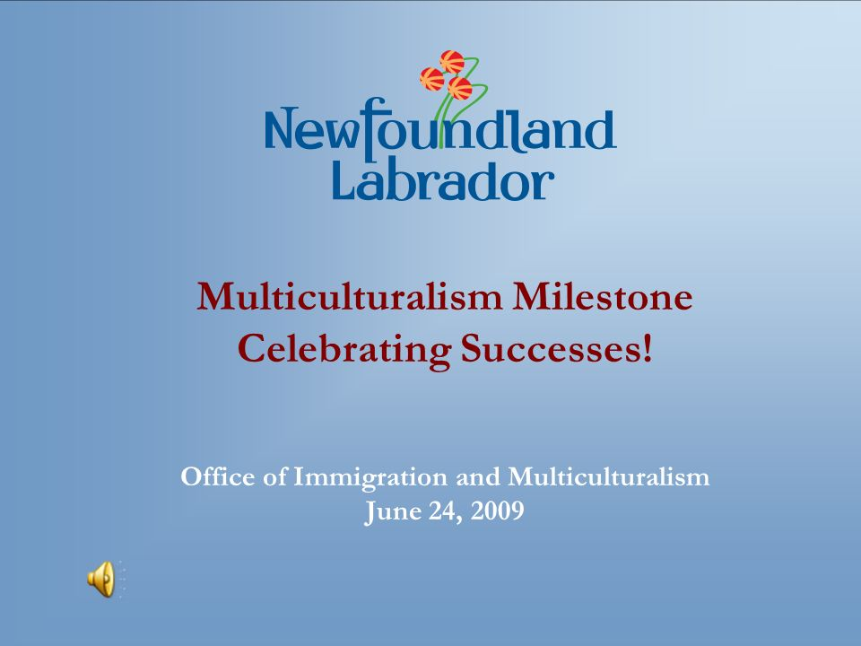 Multiculturalism Milestone Celebrating Successes.