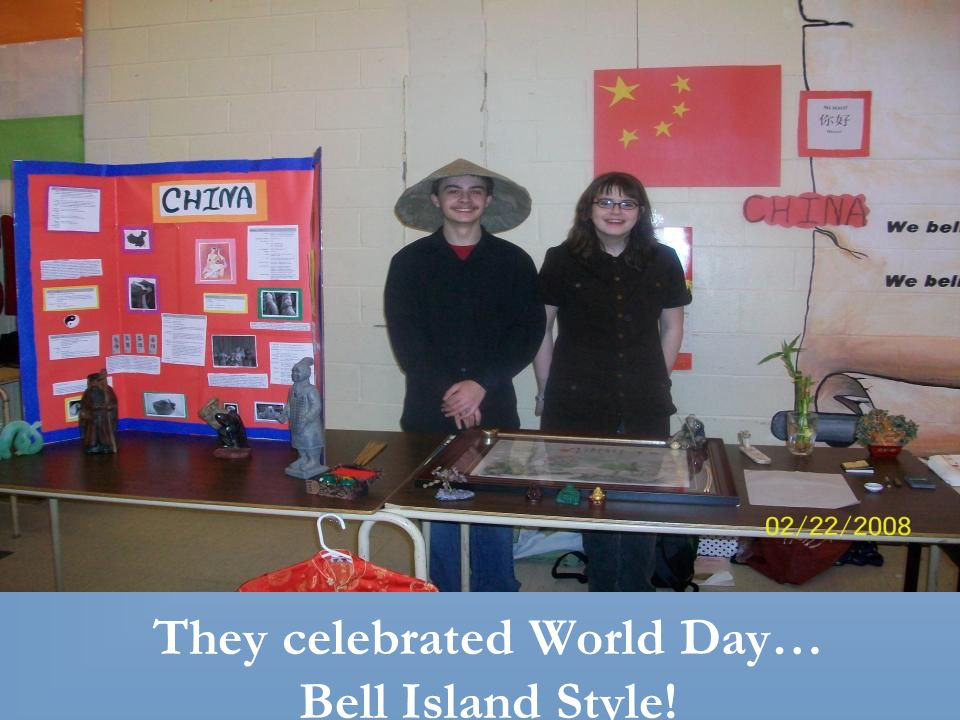 They celebrated World Day… Bell Island Style!