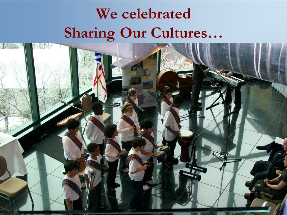 We celebrated Sharing Our Cultures…