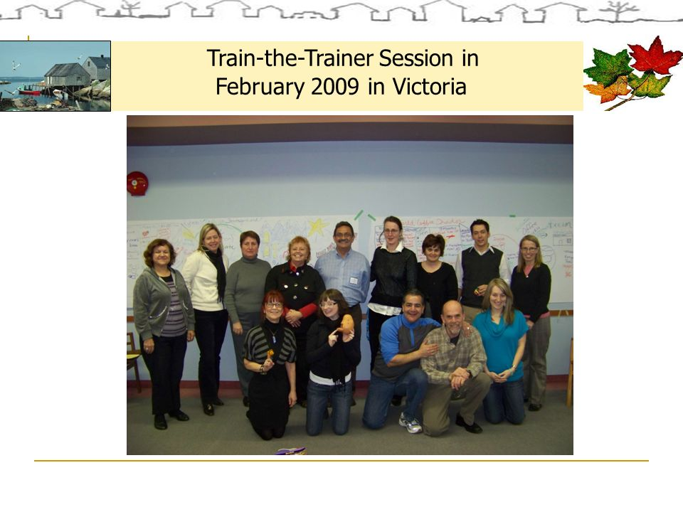 Train-the-Trainer Session in February 2009 in Victoria