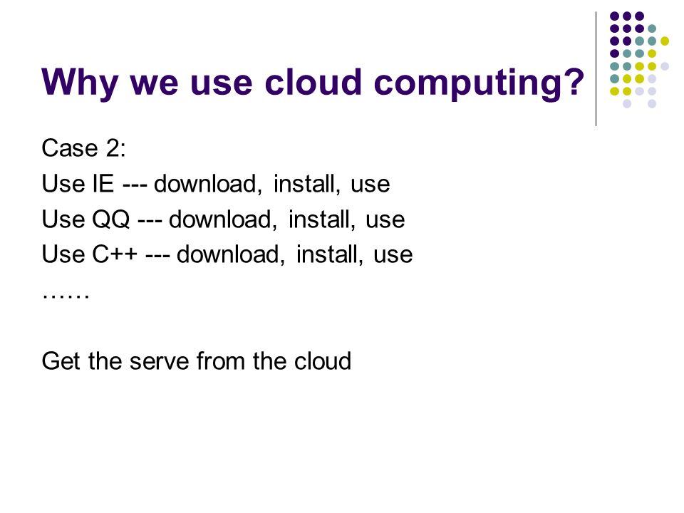 What is cloud and cloud computing.