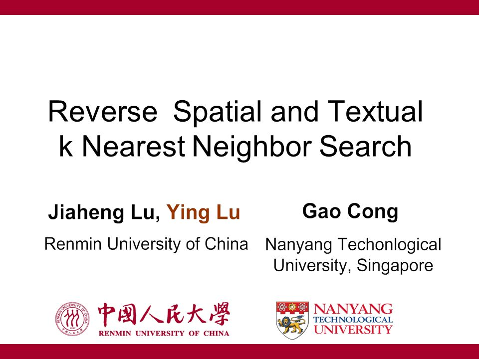 Reverse Spatial and Textual k Nearest Neighbor Search