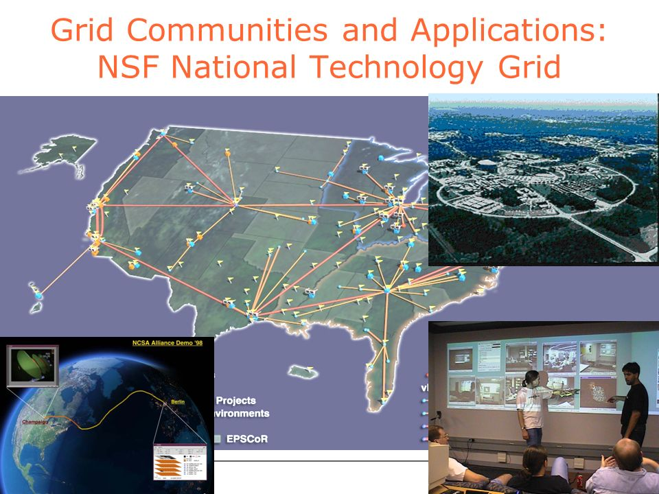 foster@mcs.anl.gov ARGONNE CHICAGO Grid Communities and Applications: NSF National Technology Grid