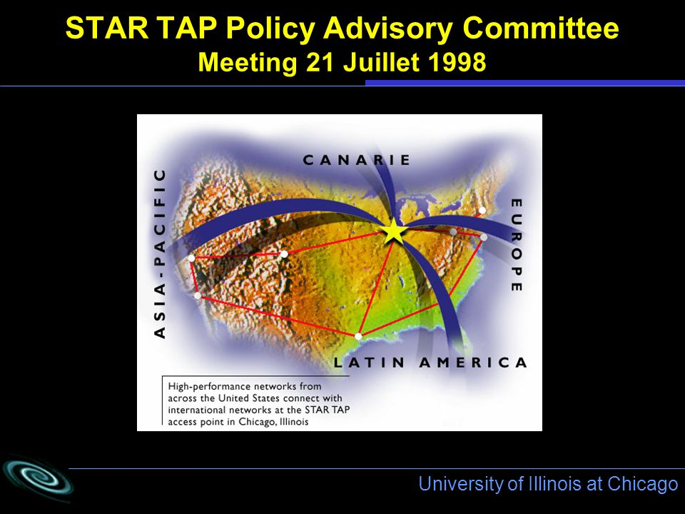 University of Illinois at Chicago STAR TAP Policy Advisory Committee Meeting 21 Juillet 1998