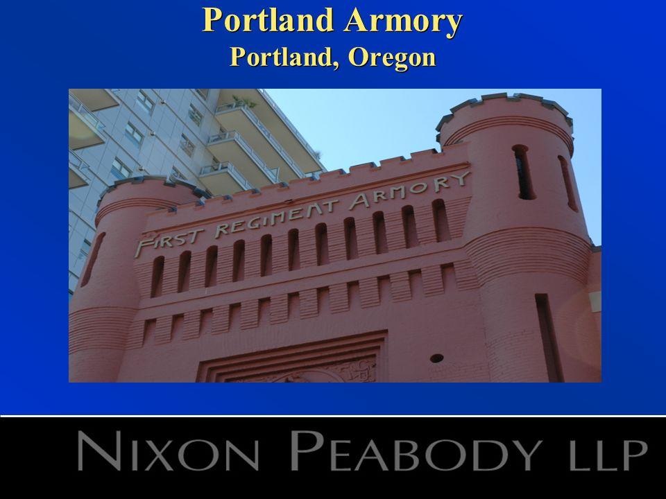 Portland Armory Portland, Oregon