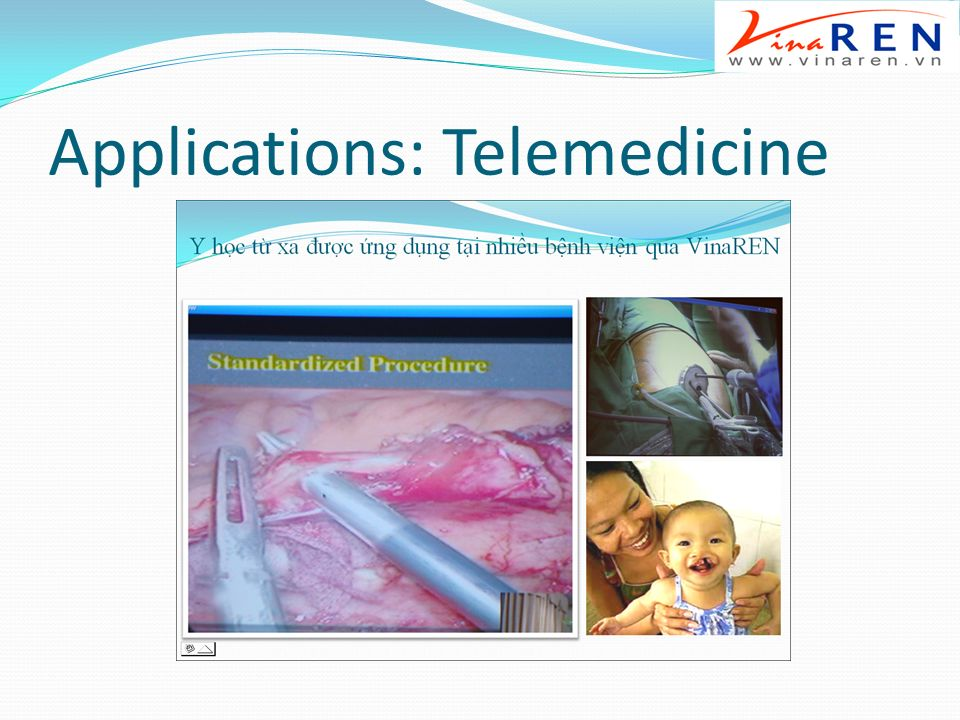 Applications: Telemedicine