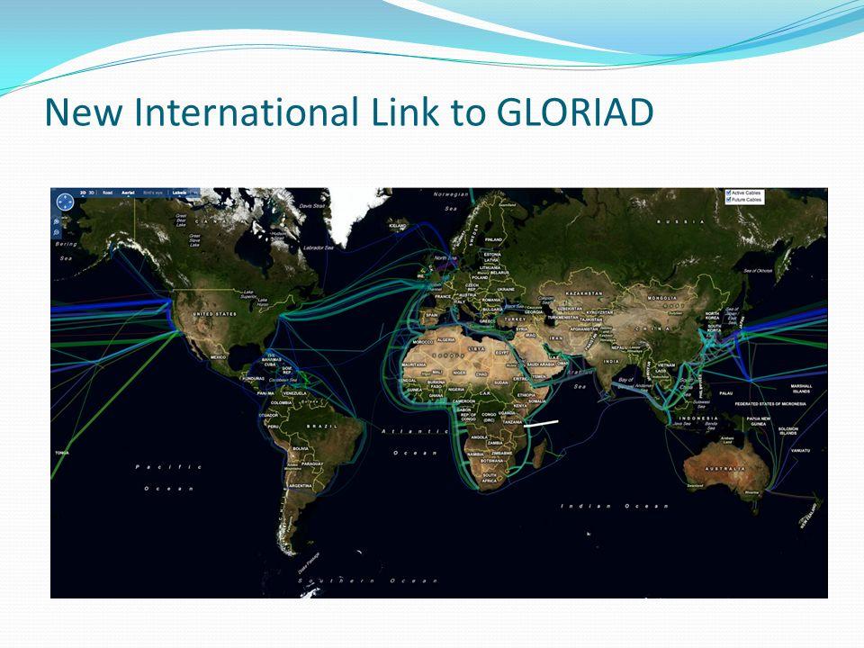 New International Link to GLORIAD