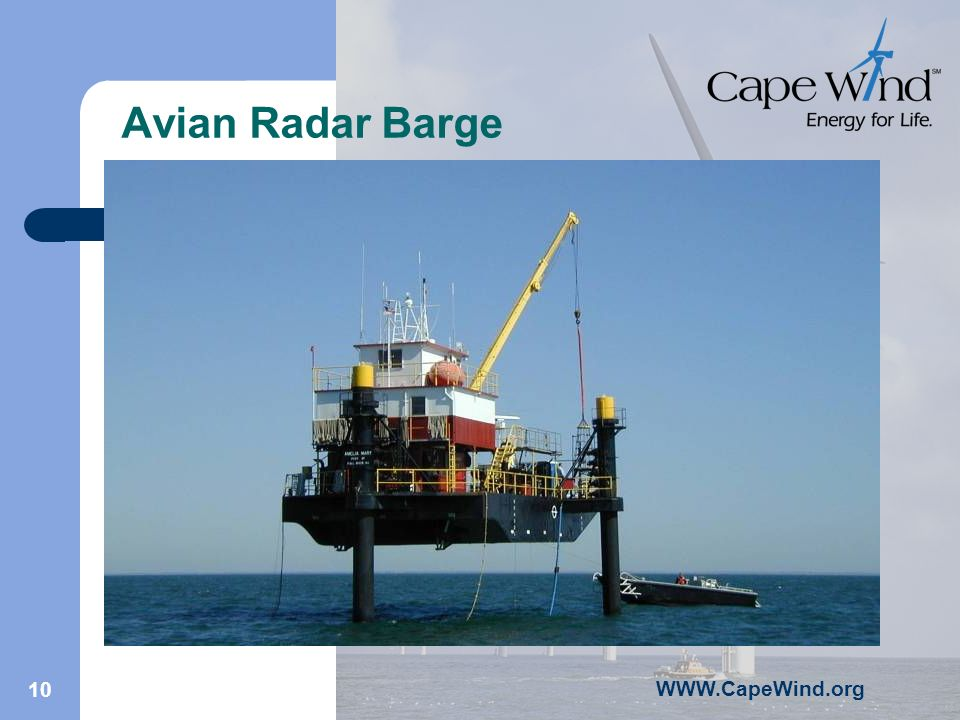 10 Avian Radar Barge