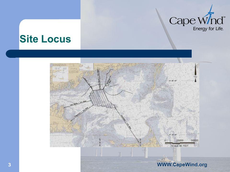 WWW.CapeWind.org 3 Site Locus